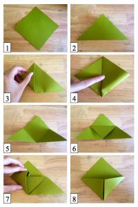 origami bookmark corner