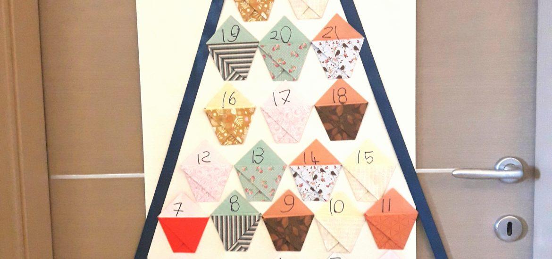 Come Fare Calendario Avvento.Come Fare Un Calendario Dell Avvento Con Gli Origami
