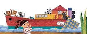 i fantastimici sulla barca