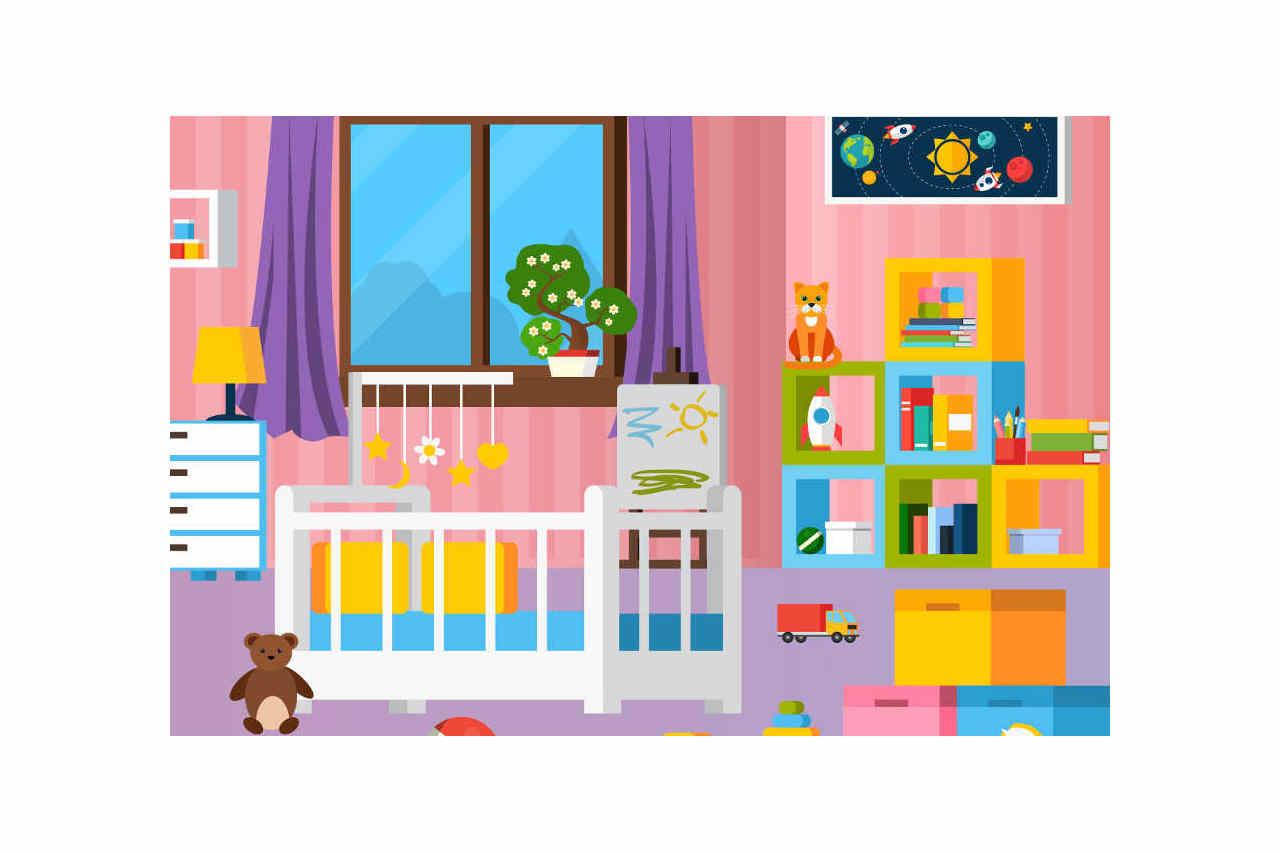 Come decorare la cameretta bambini - Baby room